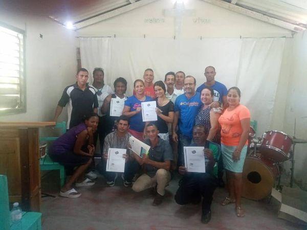 Imparten Módulo 5 de Liderazgo en La Caridad